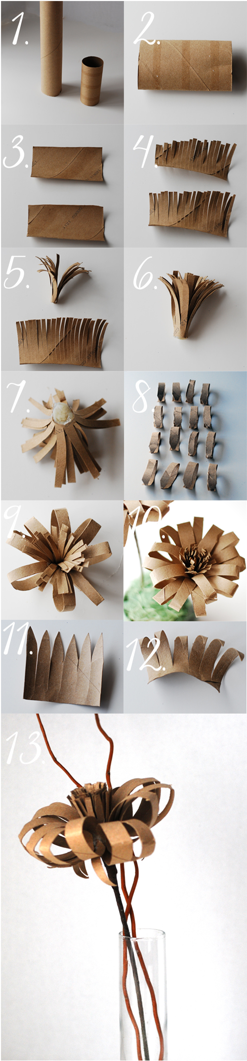 45 diy toilet paper roll crafts relaxing for you and engaging for easy toilet roll paper flower crafts jeuxipadfo Images