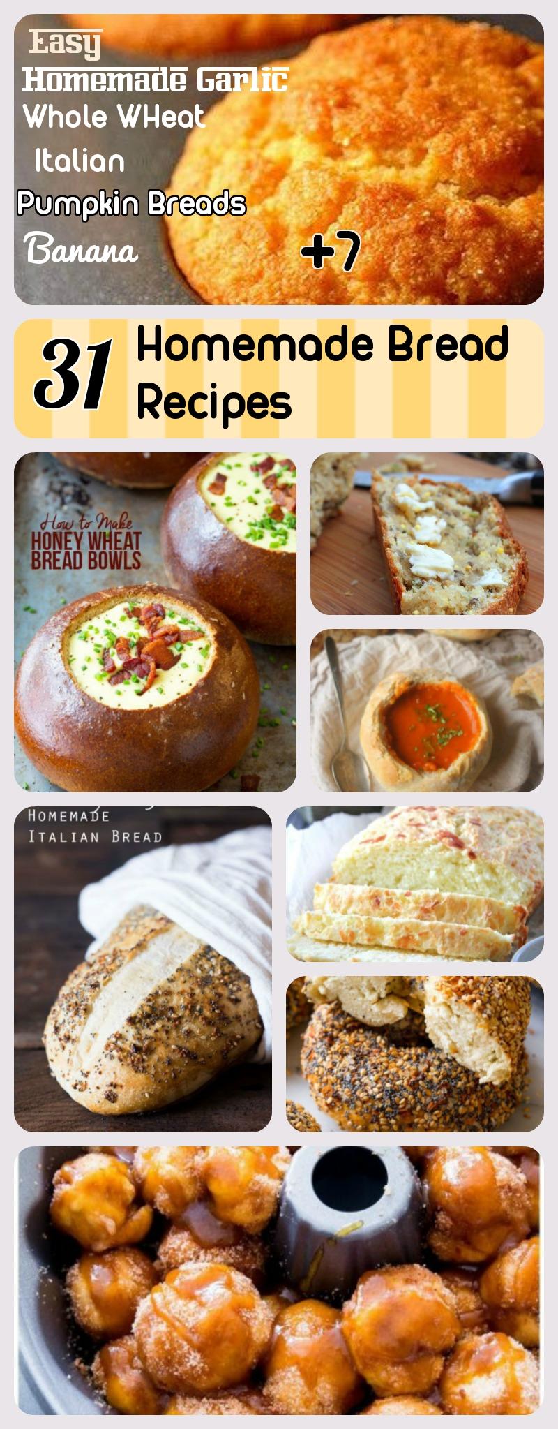 31 Bread recipes