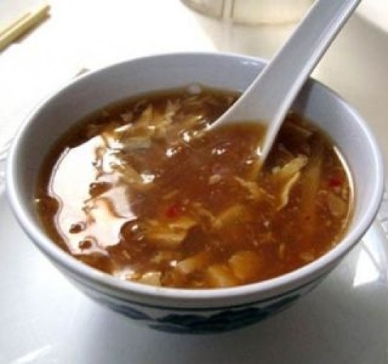 Vegan Hot and Sour Soup with Tofu
