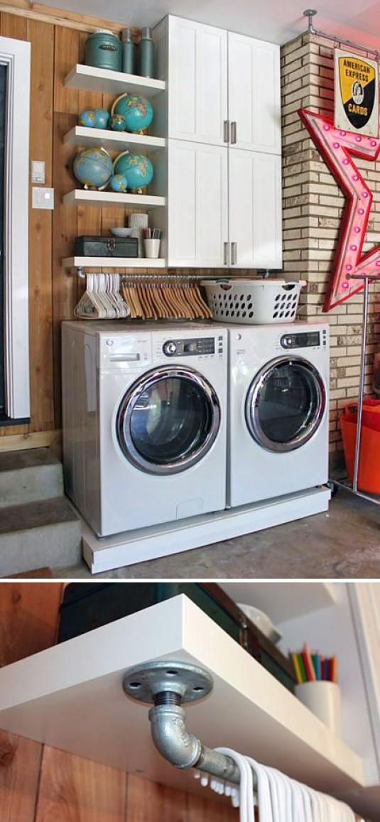 Laundry Room Storage Decor Ideas
