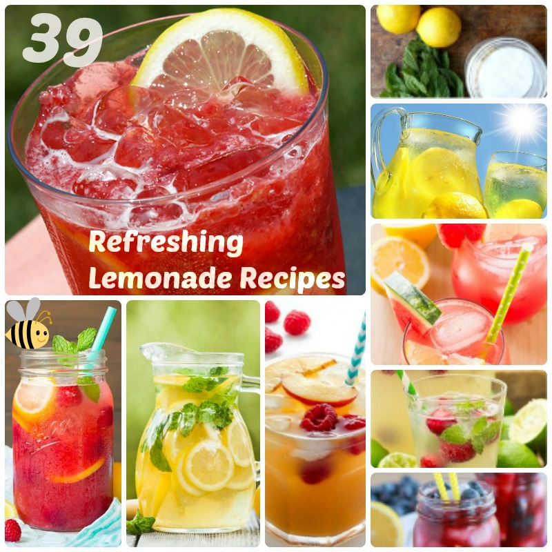 39 Refreshing Lemonade DIY Recipes to get a Boost during the Scorching Summer
