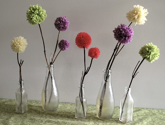 Craft Ideas Using Pom Pom Balls