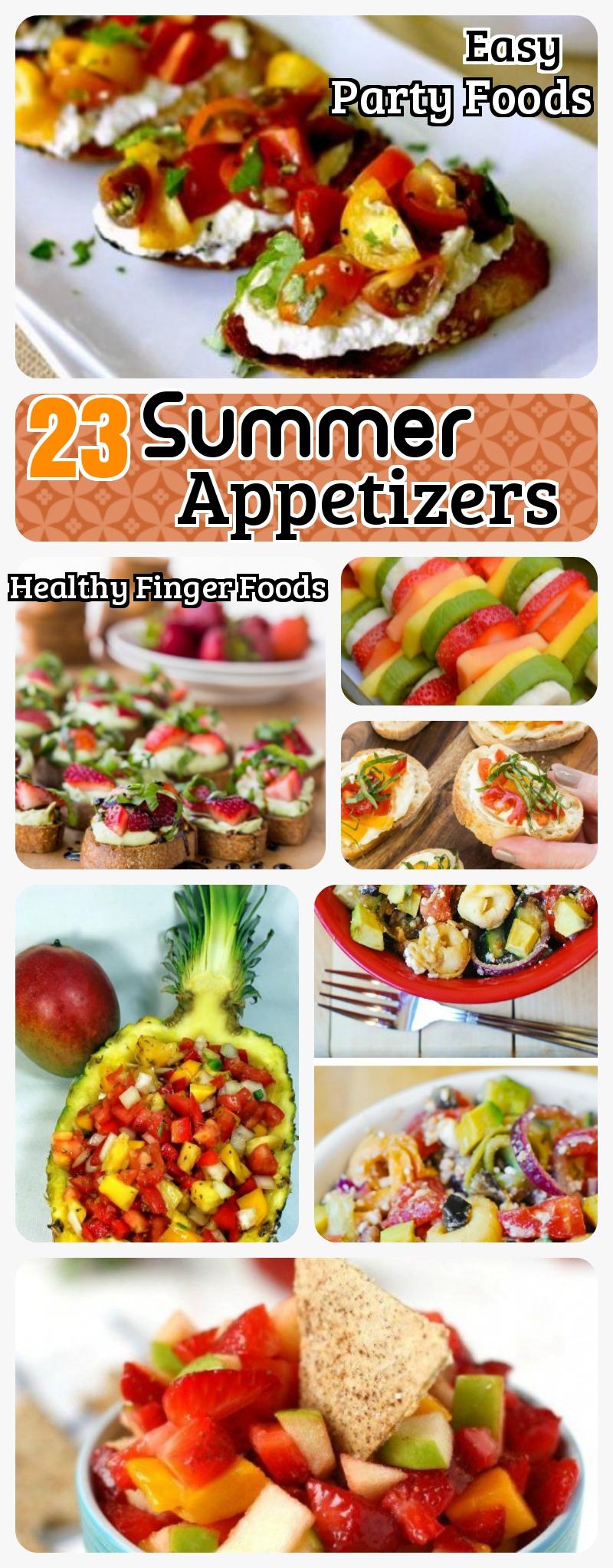 Summer Appetizers