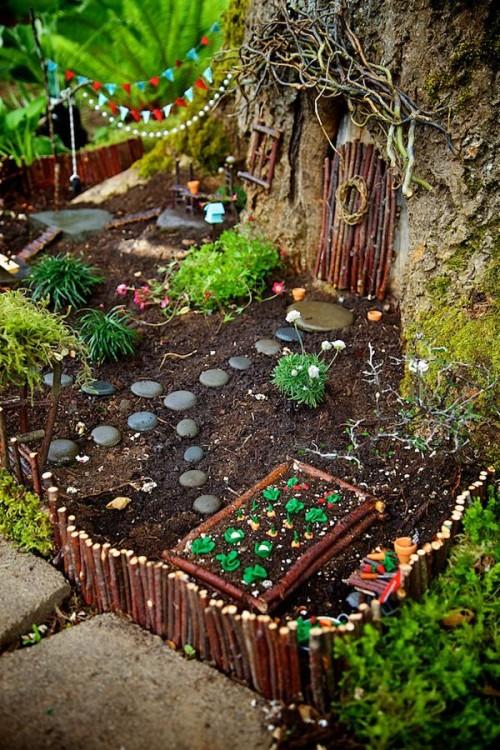 15 enchanted garden fairies ideas diy craft ideas gardening - Enchanting rooftop garden ideas ...