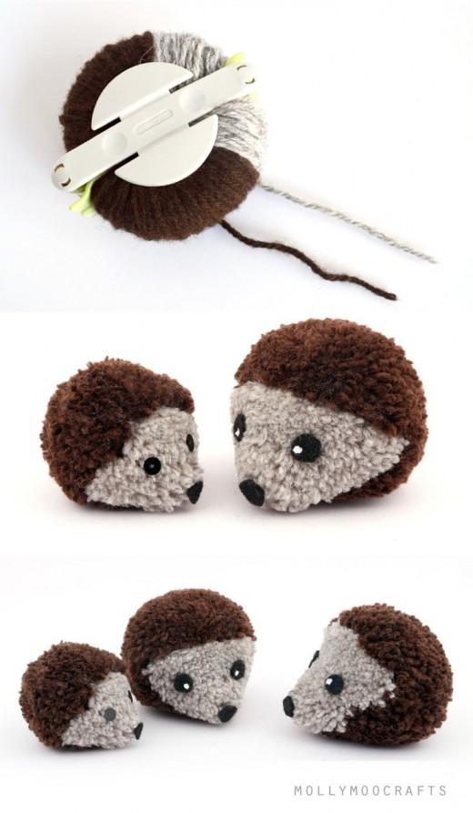 DIY Pom Pom Craft Ideas