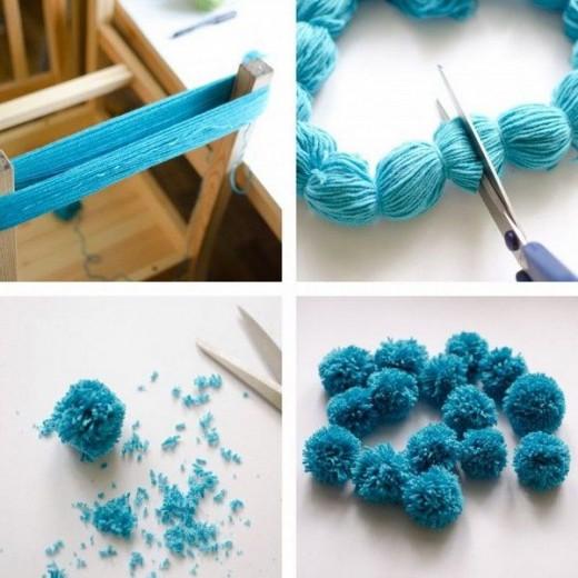 DIY Pom Craft Ideas