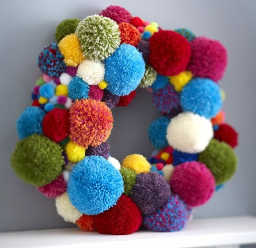 39 diy pom pom crafts which easy to make and ready to sell for What to make with pom poms crafts