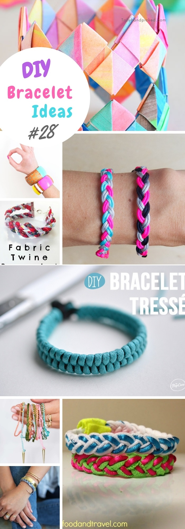to wear - Diy bracelets stylish video