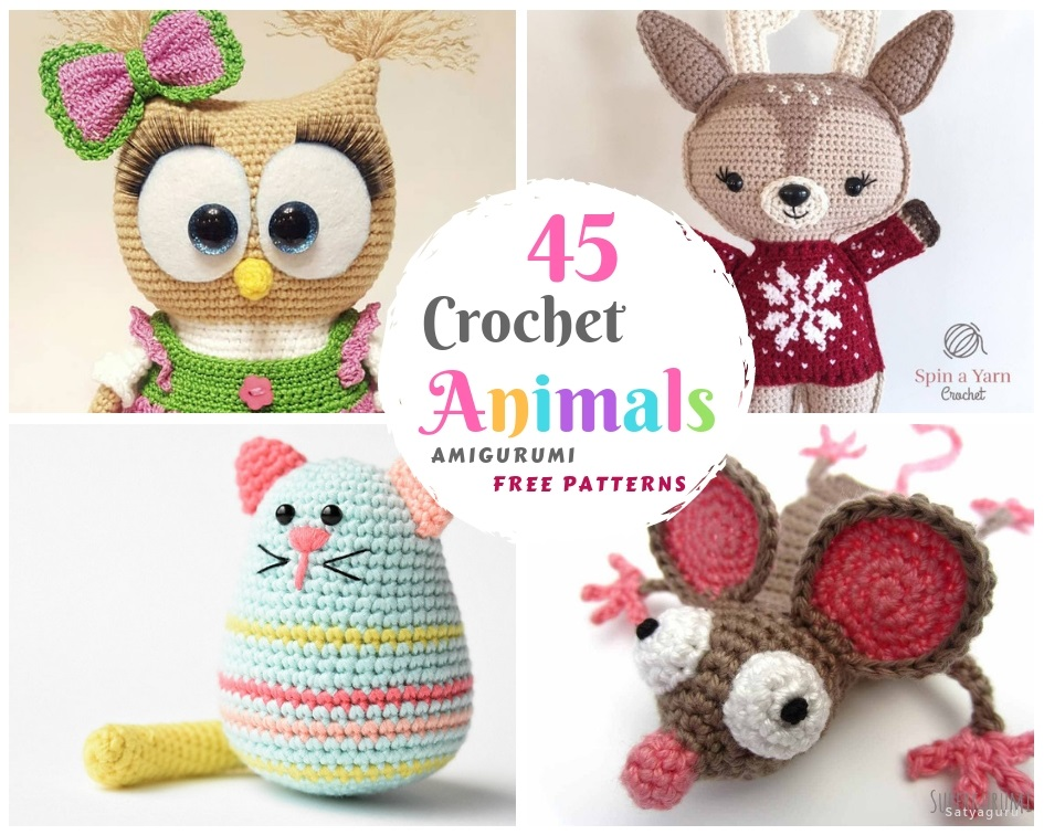 Free Amigurumi Doll And Animal Crochet Patterns (With images ... | 756x945