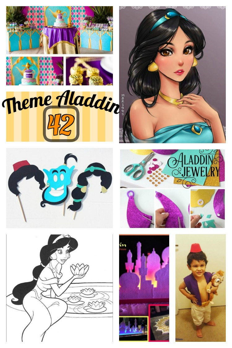 42 Lovely Things On Arabian Hero Aladdin Aladdin Party