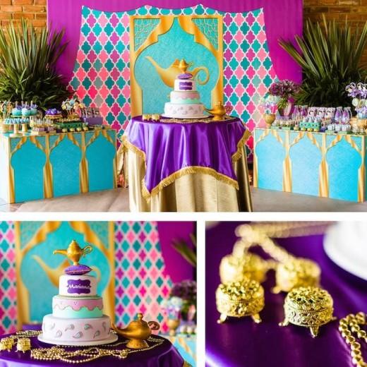 42 Lovely Things On Arabian Hero Aladdin Party