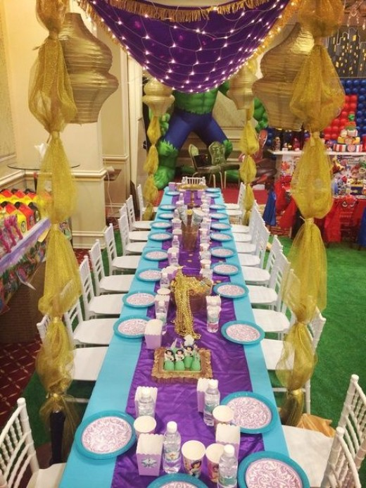 Moroccan Party Decorations Supplies