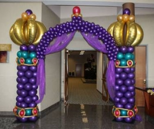 42 lovely things on arabian hero aladdin aladdin party for Arabian party decoration ideas