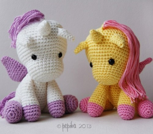 Crochet Baby Unicorn Pattern : 28 DIY Animal Crochet Craft Ideas & Inspiration for Kids ...