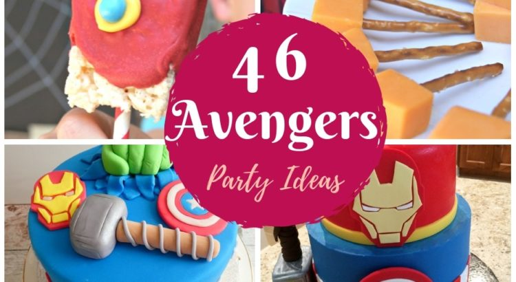 Stupendous 46 Avengers Birthday Party Ideas Food And Superhero Activities Funny Birthday Cards Online Alyptdamsfinfo