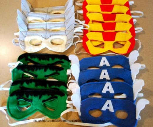 Avengers-Birthday-party