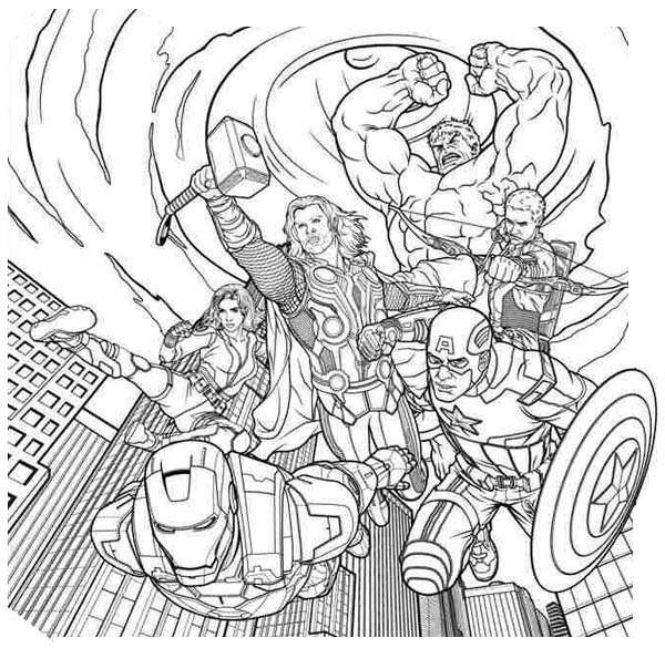 Avengers Coloring Pages P5 Diy Craft Ideas Gardeningrhdiycraftsfoodtrulyhandpicked: Avengers Birthday Coloring Pages At Baymontmadison.com