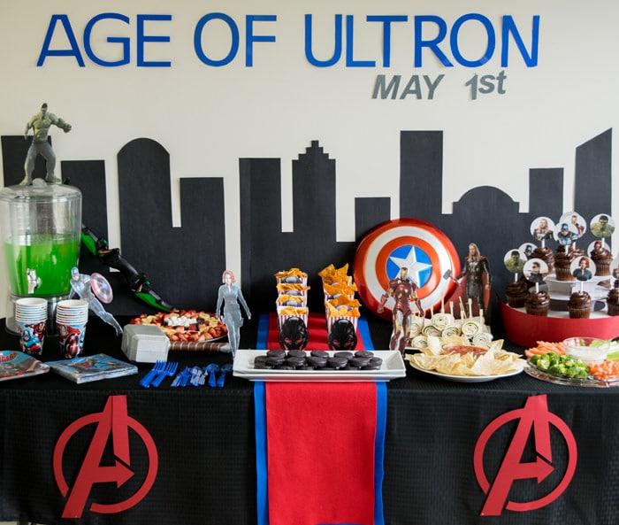 46 Avengers Birthday Party Ideas Food and Superhero Activities