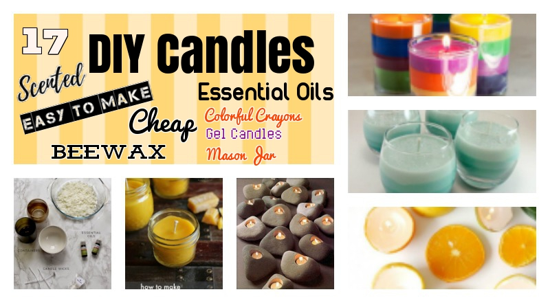 17 DIY Candles to Embellish your House