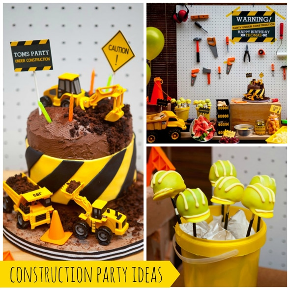 Groovy 48 Construction Theme Birthday Party Decor And Food Ideas And Funny Birthday Cards Online Alyptdamsfinfo