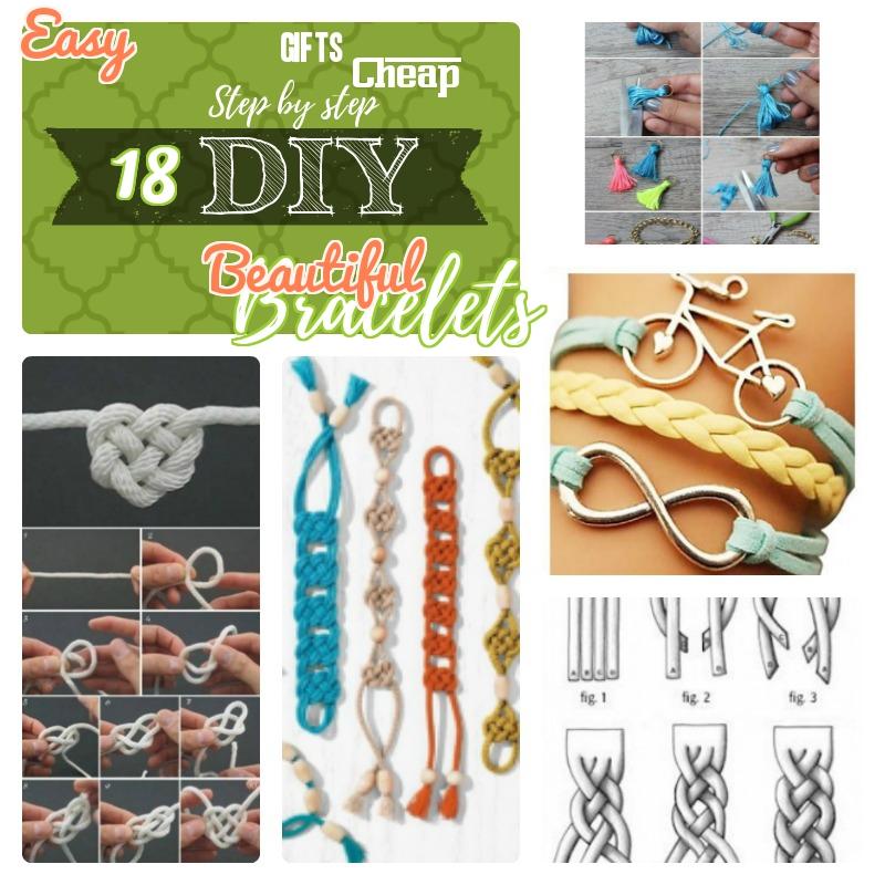 DIY Bracelets Easy to do