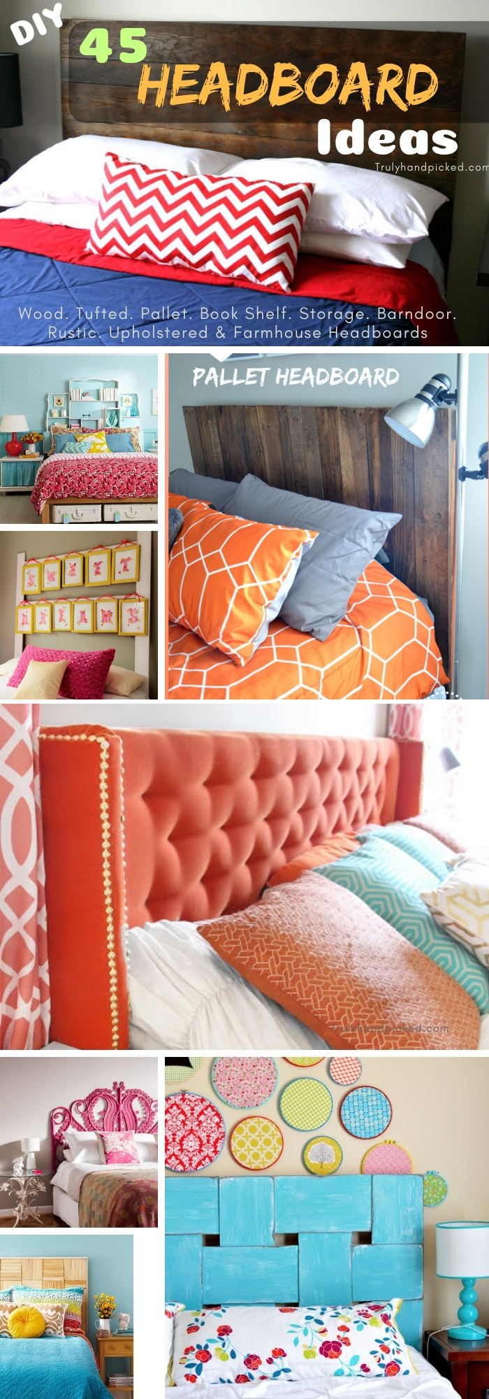 45 Diy Bedroom Headboard Ideas Inexpensive Creative Makeover Ideas