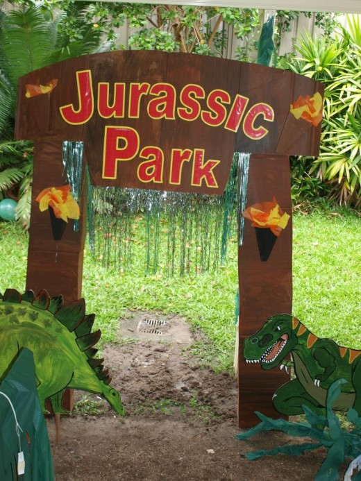 Mystifying dinosaur birthday party ideas for dino lovers for Amusement park decoration games