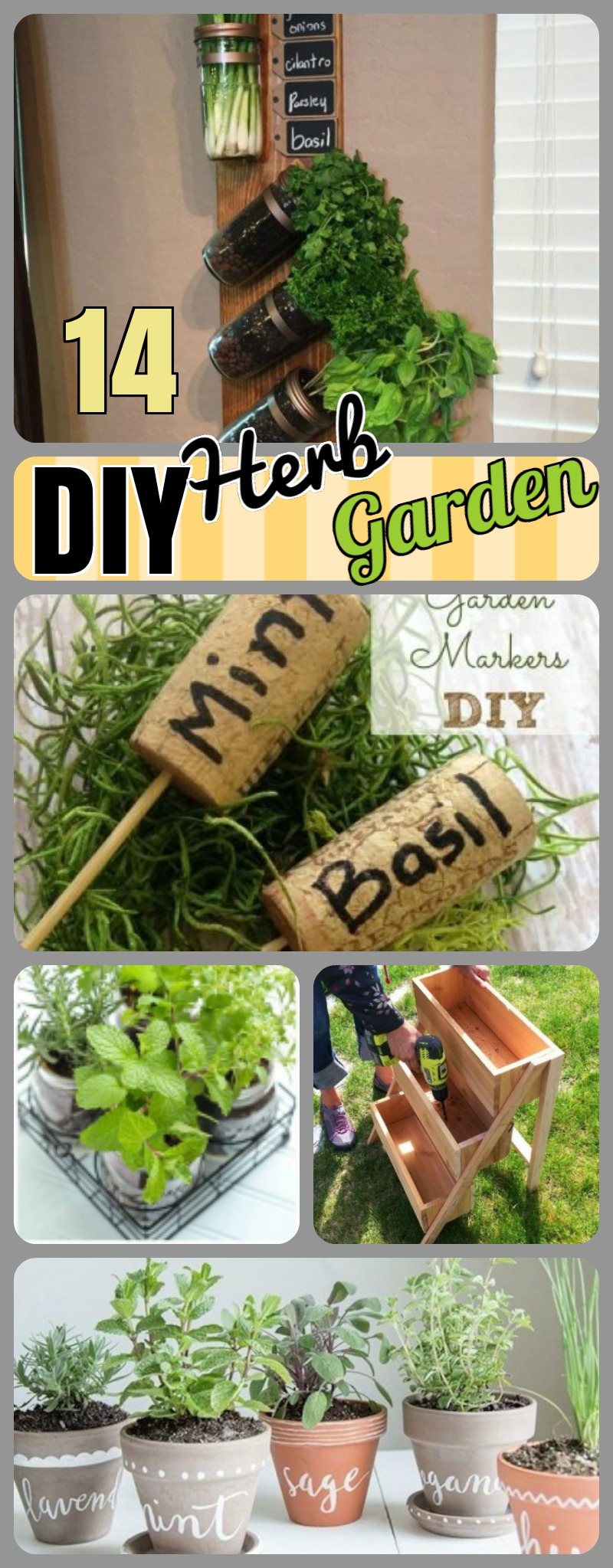 diy herb garden herb garden ideas 2