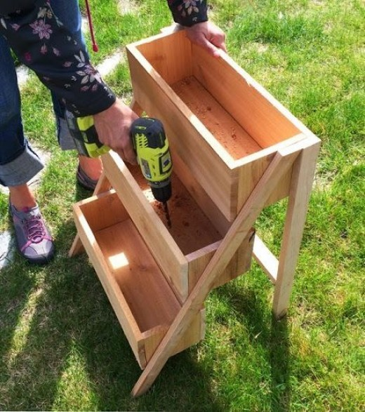 diy herb garden planter