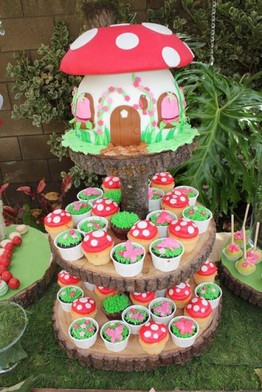 22 Enchanted Fairy Birthday Party Ideas Diy Craft Ideas