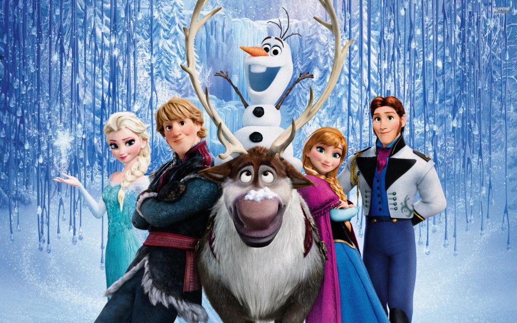 Frozen Wallpaper all Characters
