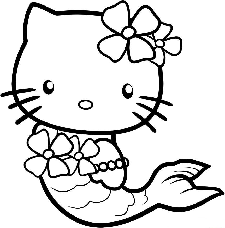 Hello Kitty With Flowers Coloring Pages : Some wonderful ideas for hello kitty birthday party and