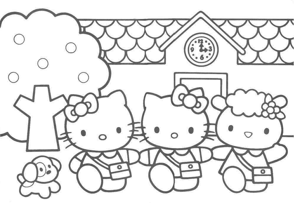 Some Wonderful Ideas For Hello Kitty Birthday Party And Coloring