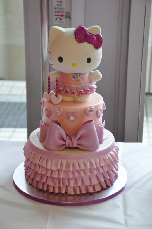 Hello-kitty-cakes