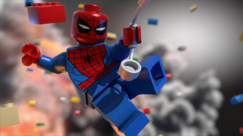 Lego Spiderman wallpaper