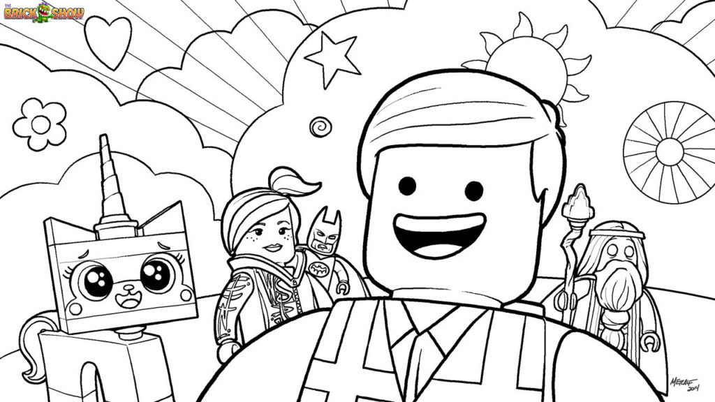 Lego coloring pages b2