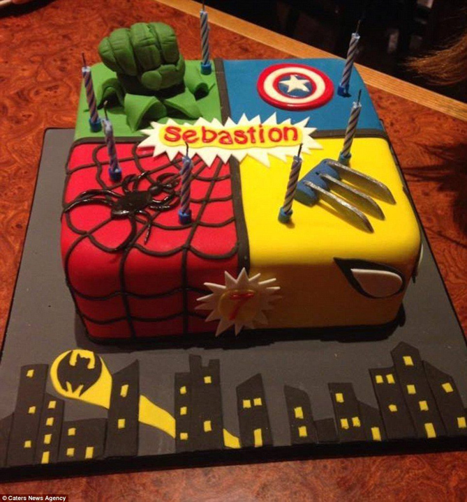 46 Avengers Birthday Party Ideas Food And Superhero