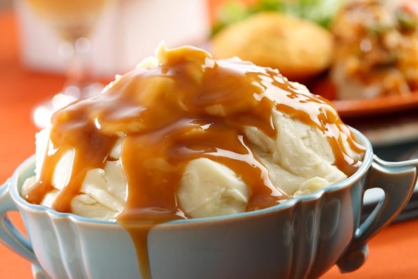 red skin garlic mashed potatoes