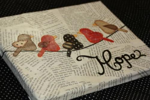 Newpaper-crafts