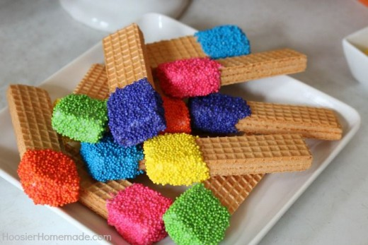 Rainbow Birthday Party Ideas 19 DIY Decor and Party Food