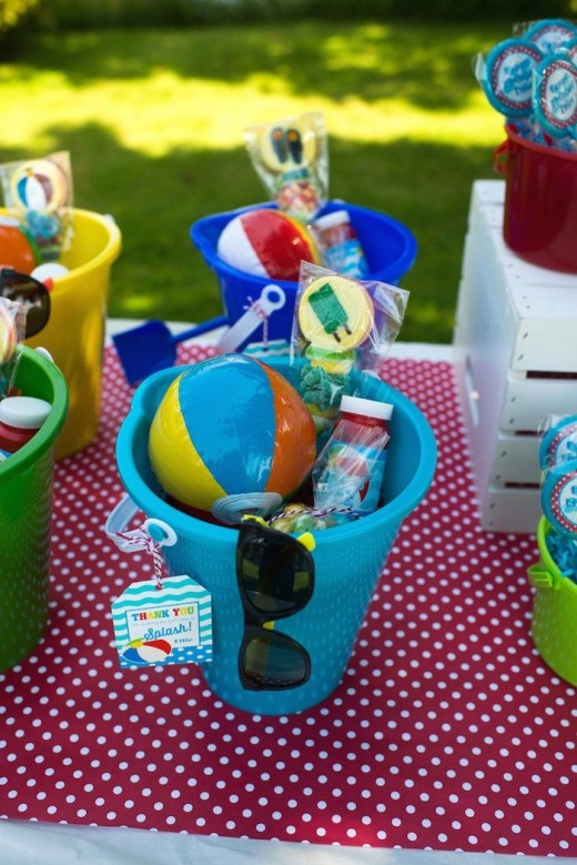Some useful food and activities ideas for summer birthday
