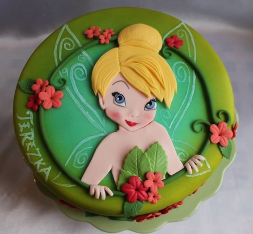 Tinkerbell Birthday Party Cake Ideas