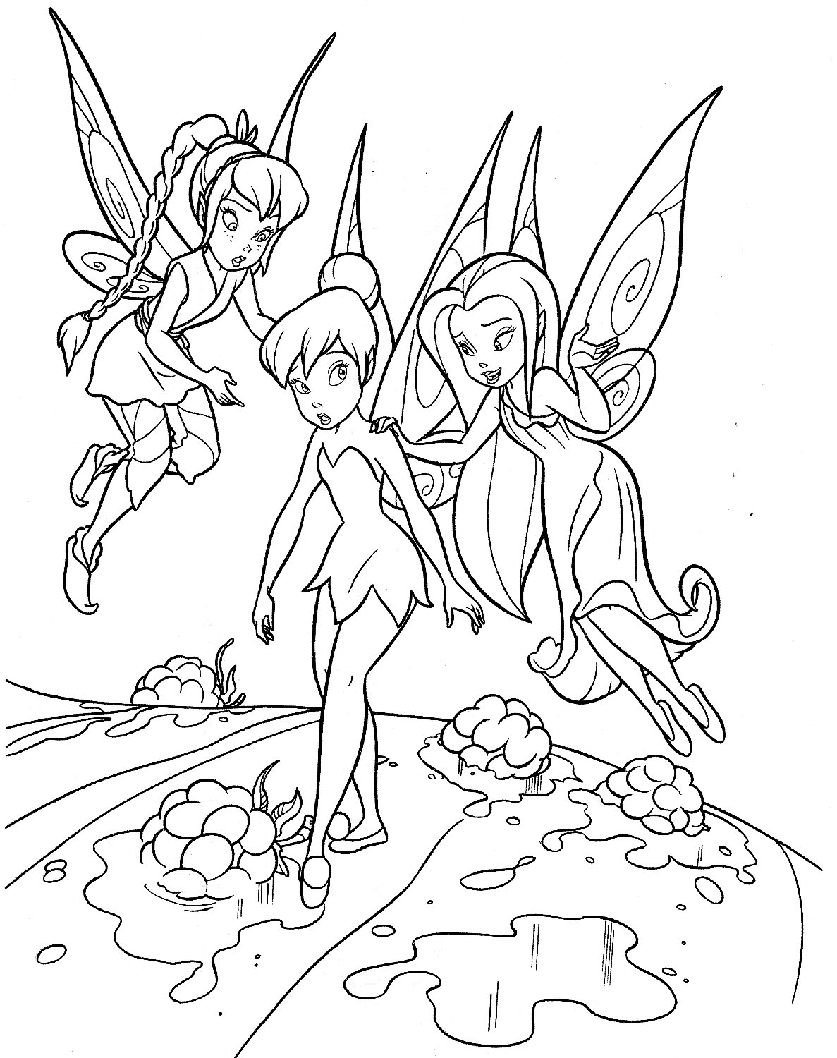 60 tinkerbell birthday party ideas u0026 tinkerbell coloring pages