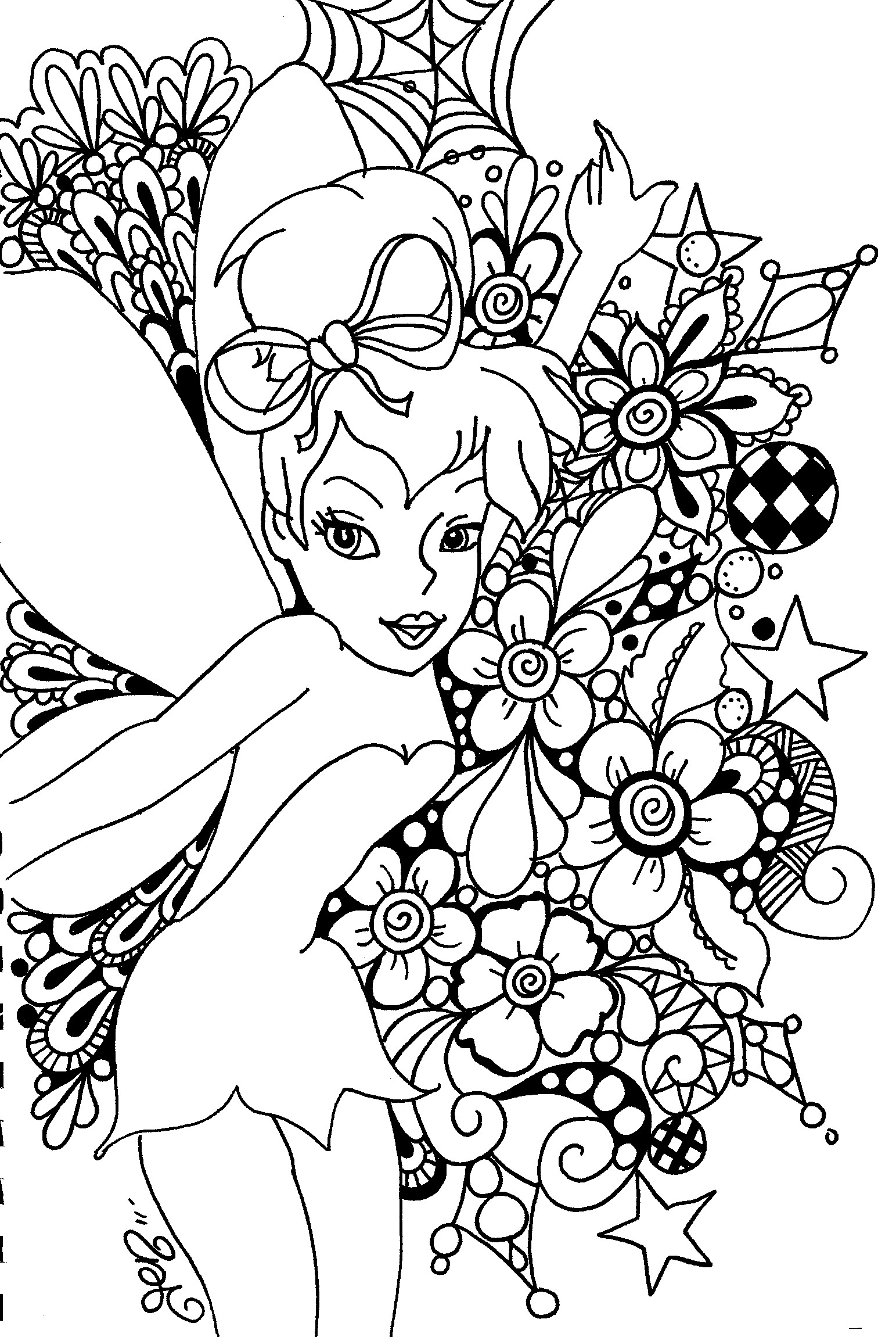 tinkerbell coloring pages 7 - Coloring Pages Tinkerbell