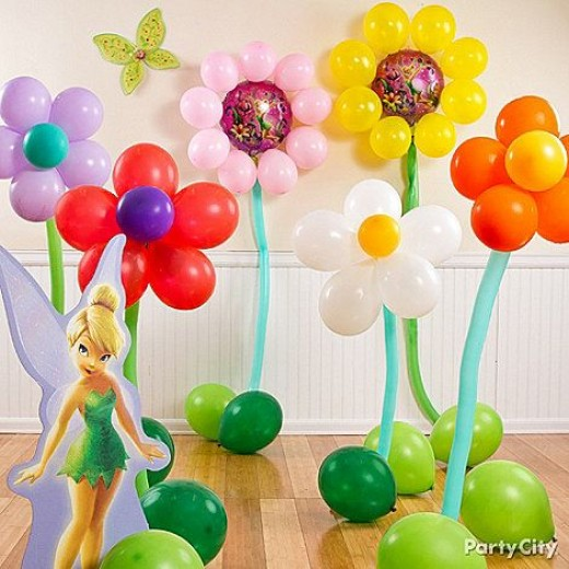 tinkerbell birthday party decoration idea
