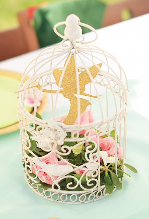 Tinkerbell birthday party ideas coloring