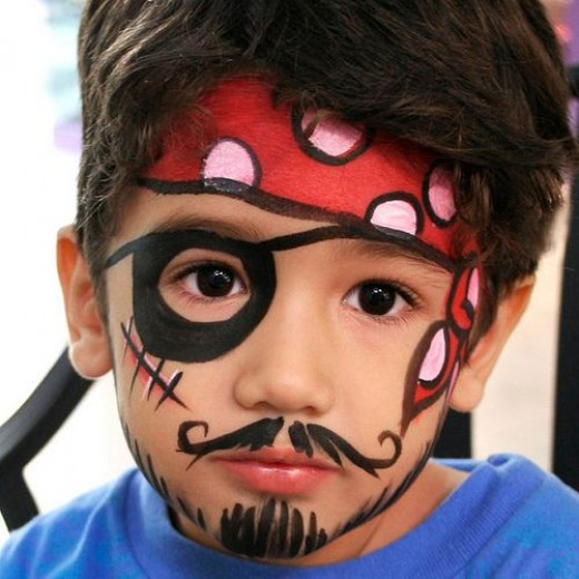 16 DIY Easy And Beautiful Face Painting Ideas For Kids