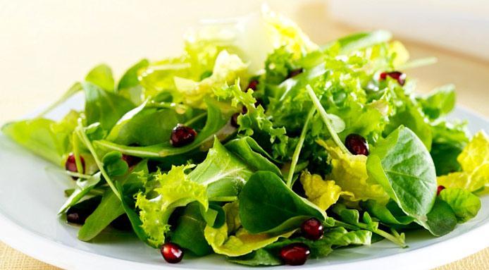 green salad mw