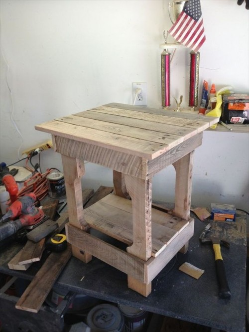 ... DIY Pallet End Tables and Furniture - Diy Craft Ideas & Gardening