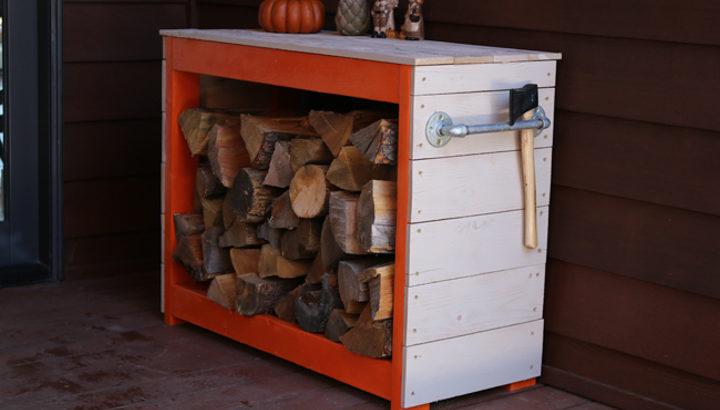 49 DIY Firewood Storage ideas Seasoning Outdoor Sheds